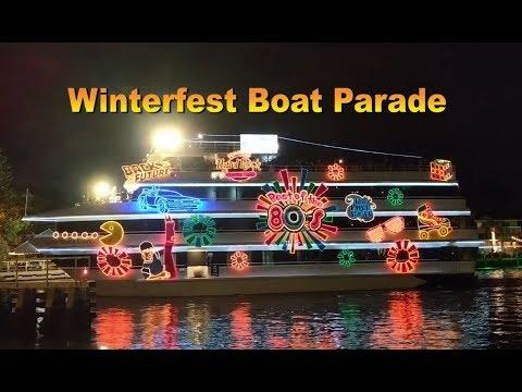 Winterfest Boat Parade 2018, Fort Lauderdale FL