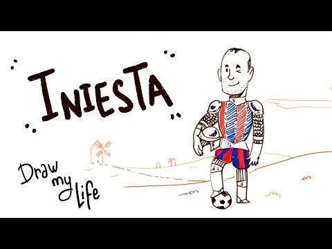 Andrés Iniesta - Draw My Life