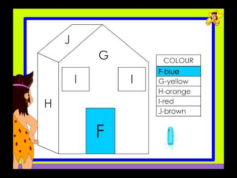 kindergarten worksheets letter recognition letters f to j youtube. Black Bedroom Furniture Sets. Home Design Ideas