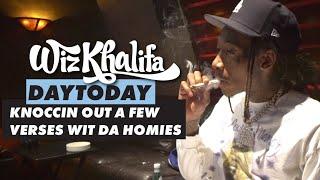 Wiz Khalifa - DayToday - Knoccin out a few verses wit da homies