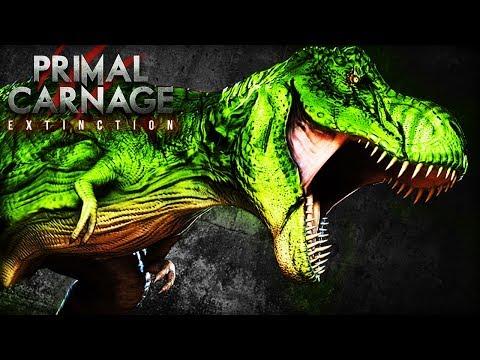 RADIOACTIVE T.REX | Primal Carnage : Extinction (Primal Carnage Extinction Gameplay Part 60)