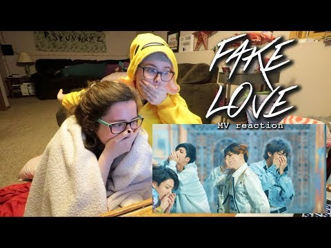 BTS (방탄소년단) 'FAKE LOVE' Official MV REACTION!