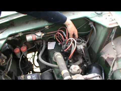 Ford Anglia 100E old start
