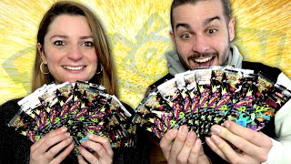 MEGA OUVERTURE DE BOOSTERS POKEMON SHINY STAR V ! ON PACK UNE CARTE EN OR !