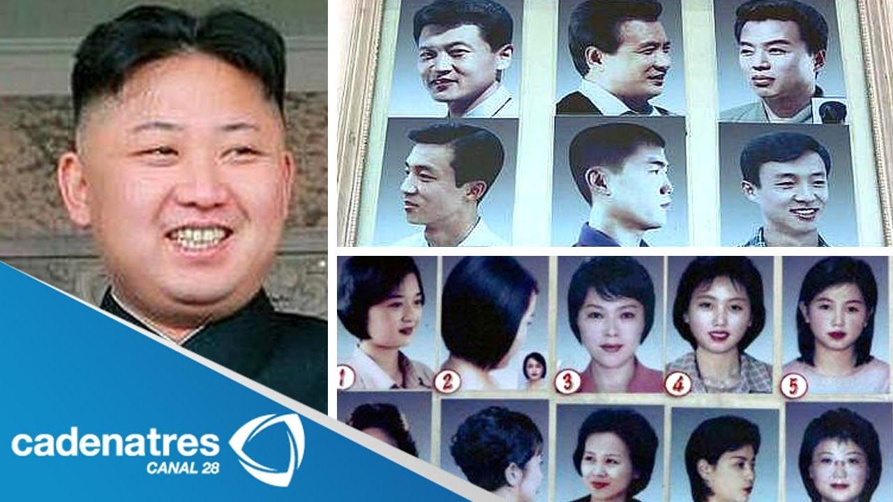Corte de pelo en corea del norte