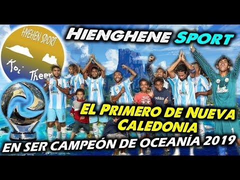 HIENGHENE SPORT - El primero de Nueva Caledonia, en ser Campeón de Oceanía 2019 - Clubes del Mundo