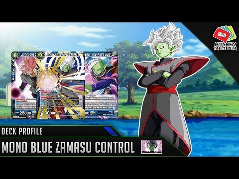 Dragon Ball Super Card Game [DBS TCG] Mono Blue Zamasu Control Deck Profile