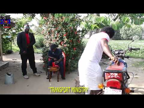 """TRANSPORT MINISTRY""SEE BIKE RIDER WANT B MINISTER TOO AHH LIBERIA"