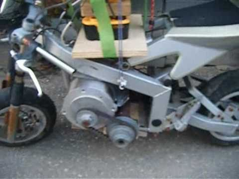 Diy Electric Pocketbike Motorcycle Video 0001 Wmv Youtube