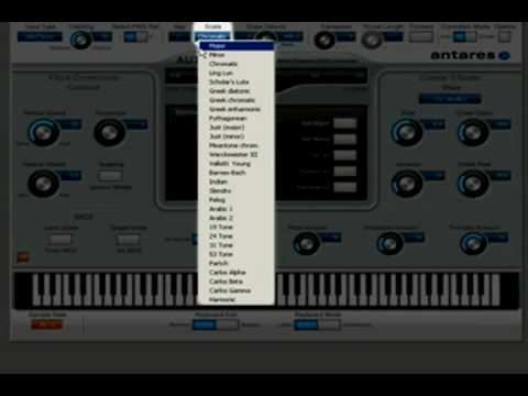 antares - auto-tune evo - tutorial - overview (part 1 of 2) -