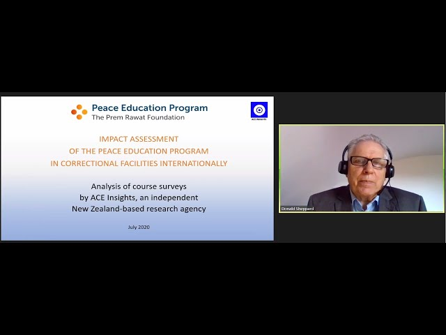 Peace Education Impact Assessment in Correctional Facilities