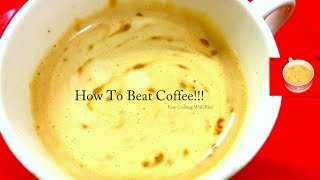 How to make  Nescafe Coffee with Milk at Home- Instant Coffee - Indian Style Recipe-Perfect Coffee