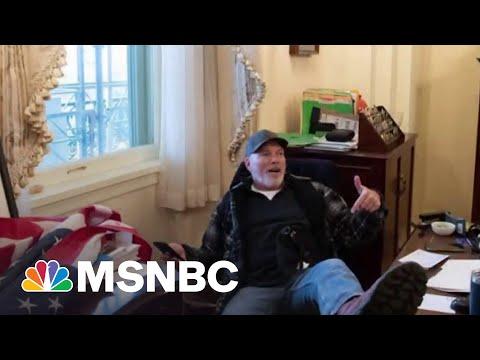 Jan. 6 Capitol Riot Defendant Richard Barnett Speaks With NBC News