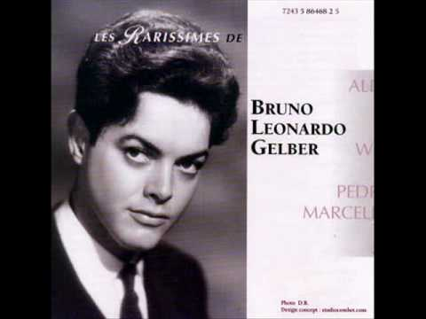 Bruno-Leonardo Gelber: Piano Concerto in D minor, Op. 15 - Grand Prix Du Disque  (Brahms) - 1967