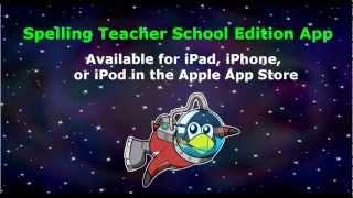Spelling Teacher School Edition app video