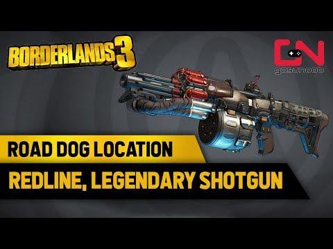 Road Dog Location - Redline Legendary Shotgun Borderlands 3 Rare Spawn Hunt