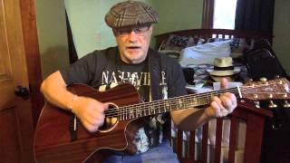 1703  - He Was A Friend Of Mine -  Willie Nelson cover with guitar chords and lyrics