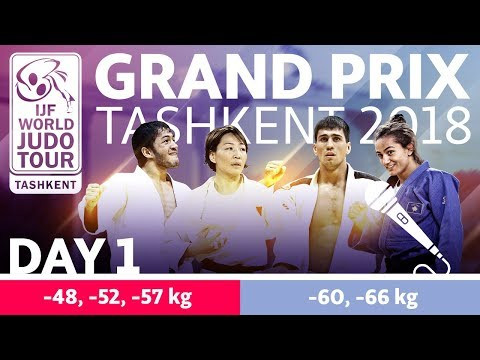 Judo Grand-Prix Tashkent 2018: Day 1