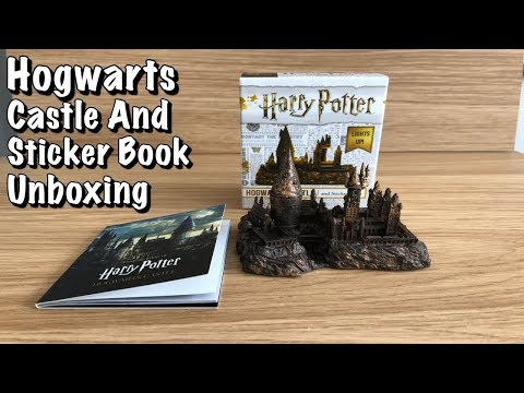 harry-potter-hogwarts-castle-and-sticker-book-unboxing
