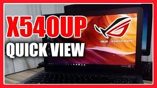 Asus X540UP laptop 15.6 inches Core i3 (Gaming) Specs Specification