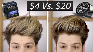 $4 Vs. $20 Hair Wax