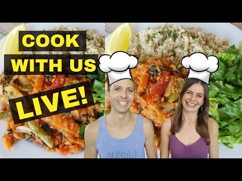 LIVE STREAM COOKING SHOW/DEMO - Requested Recipe! 👩🏻🍳👨🏻🍳