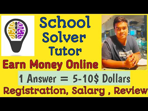Earn Money Online Answering Homework Assignment Questions | School Solver Tutor Registration, Review