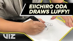 Eiichiro Oda Draws Luffy | Thank You Shonen Jump Members!
