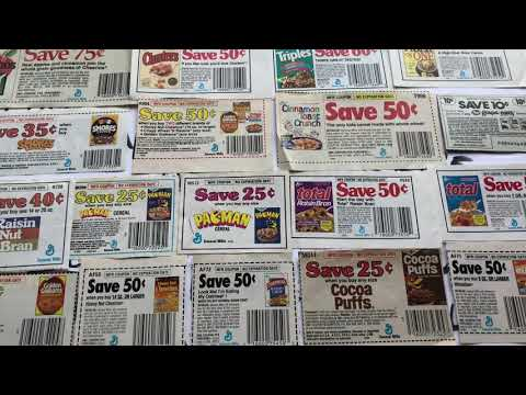 Cereal Coupons General Mills Kellogg's Post Ralston 1980s 80sThen80sNow