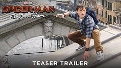 SPIDER-MAN: FAR FROM HOME - Teaser Trailer - Ab 4.7.19 im Kino! (Trailer FSK: Ab 6 Jahren)