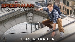 SPIDER-MAN: FAR FROM HOME - Teaser Trailer - Ab 4.7.19 im Kino!