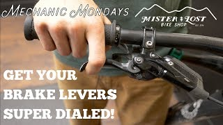 PRO TIP: Get Your Brake Levers Super Dialed!  /  Mechanic Mondays - EP2