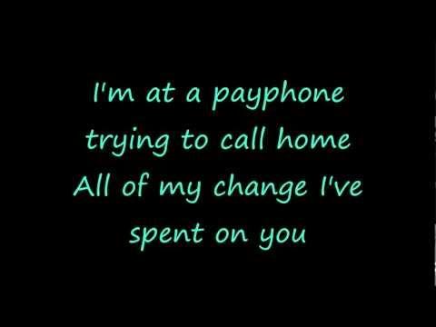 Payphone by Maroon 5 and Wiz Khalifa -Lyrics(Radio Edit)