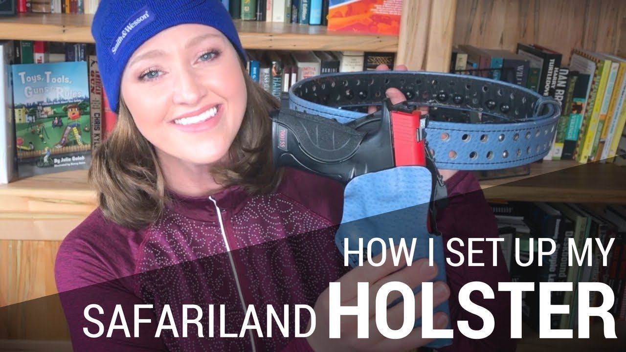 My Safariland Drop Offset Holster for Practical Shooting | JulieG TV