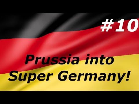 Victoria 2 - Prussia into Super Germany #10