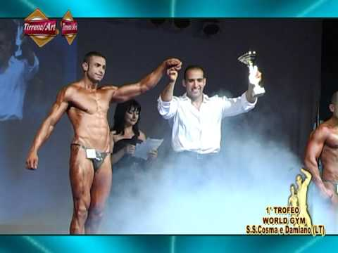 TIRRENO ART: 1° Trofeo  WORLD GYM - Parte 2^ - S.S.Cosma e Damiano (LT)-2011