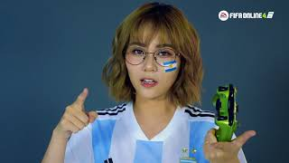 misthy dong hanh cung argentina - fifa online 4