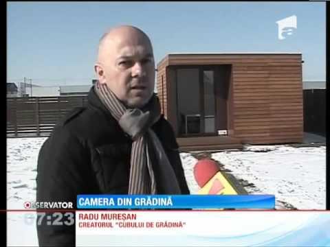 Garden Cube on romanian national TV: Antena 1