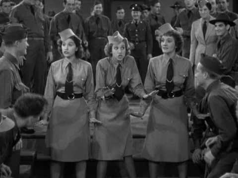 Boogie Woogie Bugle Boy - The Andrews Sisters w/Lyrics