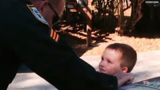 Cops step in to save boy's birthday when no one shows up!