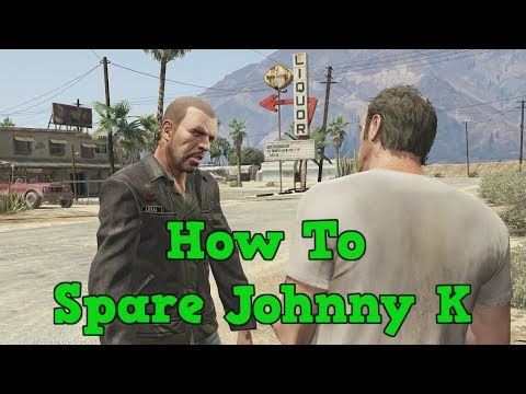 How To Save Johnny Klebitz From Trevor In GTA 5 | GTA 4: TLAD Alternate Ending (GTA V 4th Ending)