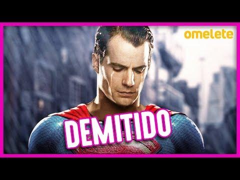 BOMBA: HENRY CAVILL NÃO É MAIS O SUPERMAN