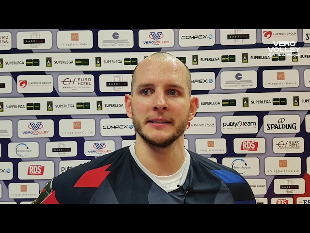 Bartosz Kurek post Vero Volley Monza vs Consar Ravenna