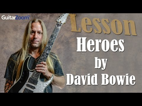 Heroes by David Bowie Lesson