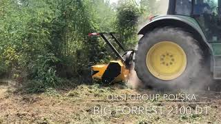 Mulczer Leśny ORSI BIG FORREST 2100 DT | kosiarka do lasu | ORSI GROUP POLSKA |