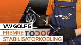 Montering Lenkearm VW GOLF V (1K1): gratis video