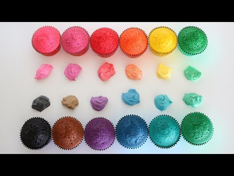 REVIEW   Cake Craft Gel Colors
