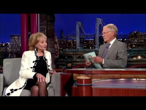 David Letterman   Barbara Walters on Fidel Castro