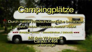 """""""Camping Grund"""" in Innertkirchen / Kanton Bern / Schweiz / Switzerland"""