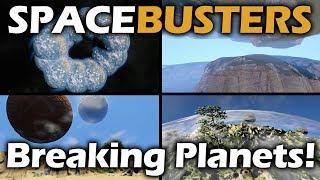 Space Busters | Breaking Space Engineers Planet Physics | Space Engineers
